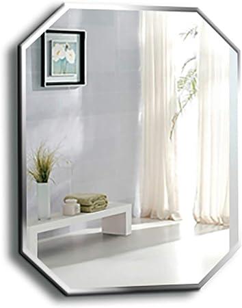Specchio Design Moderno Camera Da Letto.Creative Design Ottagonale Specchio Da Parete Per Bagno Con Bordo