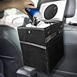 Best Car Trash Can for Litter with 30 Free Liners, Leakproof, Odor Proof, Insulated for Car Cooler, Hanging and Back Seat Car Garbage Bag, Perfect Gift for Family Trip, 100% Satisfaction Guaranteed!