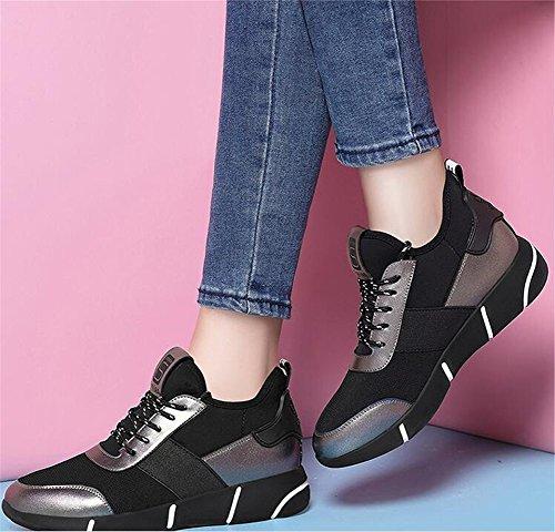 Mujeres del Las de Zapatos Vestido Las la Oficina para Señoras Deporte Señoras Zapatos Zapatillas Las de el Las de Suelas Ocasionales la de de y Primavera la Viaje Carrera Segundo resplandecientes de de xWTqYR1wU