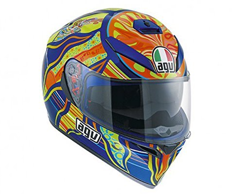 Agv Sport (AGV K-3 SV Five Continents Medium/Small Sportbike Street Motorcycle Helmet)