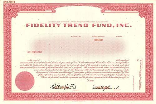 Fidelity Trend Fund, Inc.