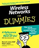 Wireless Networks for Dummies®, Peter T. Davis and Barry Lewis, 0764575252