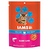 Iams PROACTIVE HEALTH Oral Care Daily Treats for Cats Salmon Flavor 2.47 Ounces (Pack of 10)