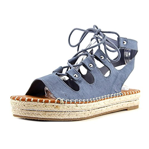 9053b6809317 G by GUESS Women s Keeny Blue Wash Camoscio Suede Sandal - Buy Online in  UAE.