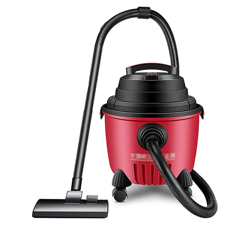 掃除機 乾式および湿式掃除機、3-in-1掃除機、15Lppプラスチックボディおよび1200Wコンパクト (Color : Red) B07STR535Q Red