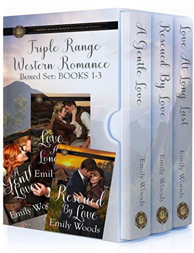 Triple Range Western Romance Boxed Set: Books 1 - 3 cover