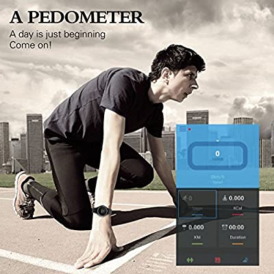 DENISY Bluetooth 4.0 Fitness Activity Tracker Wristband Smart Bracelet Pedometer for Android,IOS