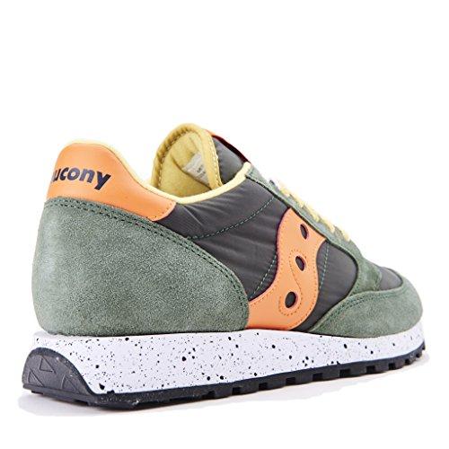 Saucony JAZZ 2044/414 nuova collezione autunno inverno 2017/2018 colore verde arancio