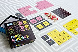 MIND YOUR NUMBERS Math Game Puzzles For Kids Of Ages 8 & Up. Gifts For Boys & Girls. Educational STEM Toys. Improves Arithmetic, Logical Thinking. Reduces Math Anxiety