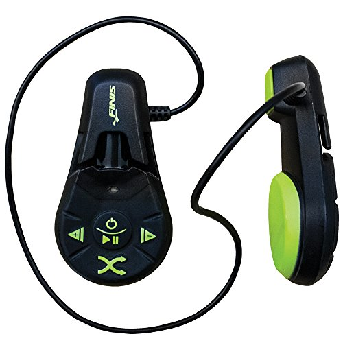 FINIS Duo Underwater MP3 Player (Black/Acid Green) by FINIS