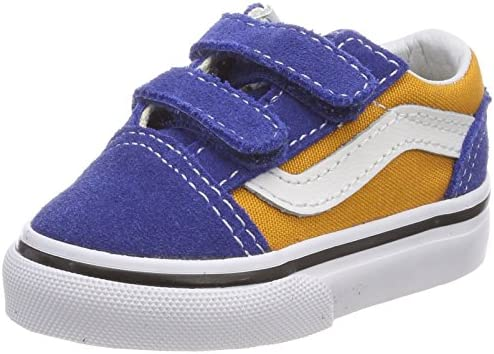 Vans Toddler Old School V BlueGold VN0A344KQ1B 4.5: