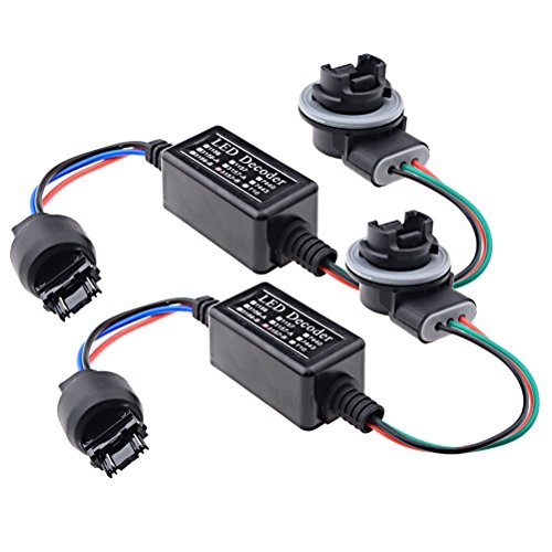 Price comparison product image 2X 3157-B Turn Signal LED Decoder Adaptor Anti Hyper Flashing Error Free Canceller Kit