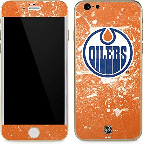 Nhl Edmonton Oilers Iphone - NHL Edmonton Oilers iPhone 6/6s Skin - Edmonton Oilers Frozen Vinyl Decal Skin For Your iPhone 6/6s