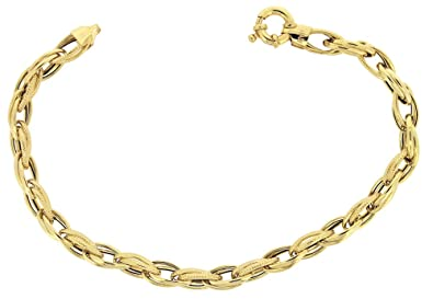 Adara 9 ct Yellow Gold Celtic Bracelet, 19 cm