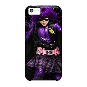 Hard phone carrying cover skin Protective Beautiful Piece Of Nature Cases covers iphone 4 /4s - kick ass 2 hit girl