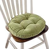 Thicken Round Seat Cushions Sofa Chair Pillow Cushion Chair Pads (Green)