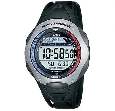 casio men s digital watch sps 300c 1ver with resin strap casio rh amazon co uk Casio Pathfinder 2632 Manual Casio Pathfinder Watches for Men