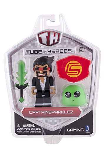 Zoofy International Captain Sparklez Action Figure with Accessory