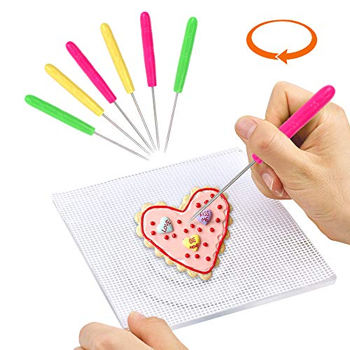 Halloween Cookies Without Icing (Cookie Decorating Turntable Cookie Stand with 6pcs Scriber Needle, Anti-Slip Silicone Mat for Mini Cake Cupcake Frosting, Icing,)