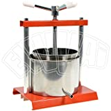Torchietto Press (Juicer) Stainless steel 5Qrt - 8(20cms) by Omac