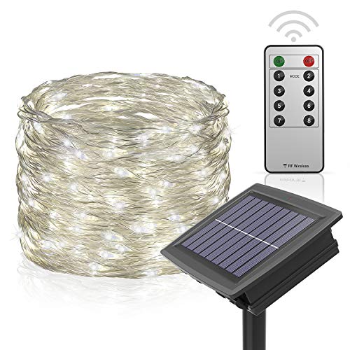 100 Led Solar Fairy Lights in US - 7