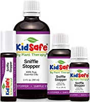 KidSafe Sniffle Stopper Synergy Essential Oil Blend, Undiluted Therapeutic Grade