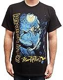 Global Merchandising Iron Maiden Men's Fear Of The Dark Album Cover T-Shirt Black