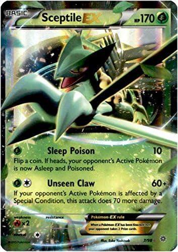 Pokemon Holo 7//98 - Ancient Origins Sceptile-EX