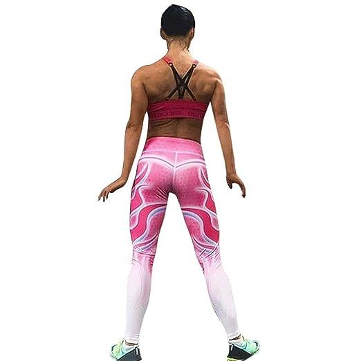 858938cb937c97 Clearance ZEFOTIM Women High Waist Yoga Fitness Leggings Running Gym  Stretch Sports Pants Trousers (S