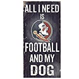 Fan Shop Best Deals - Official National Collegiate Athletic Association Fan Shop Authentic NCAA Wooden Signs (Florida State Seminoles - Football and Dog)