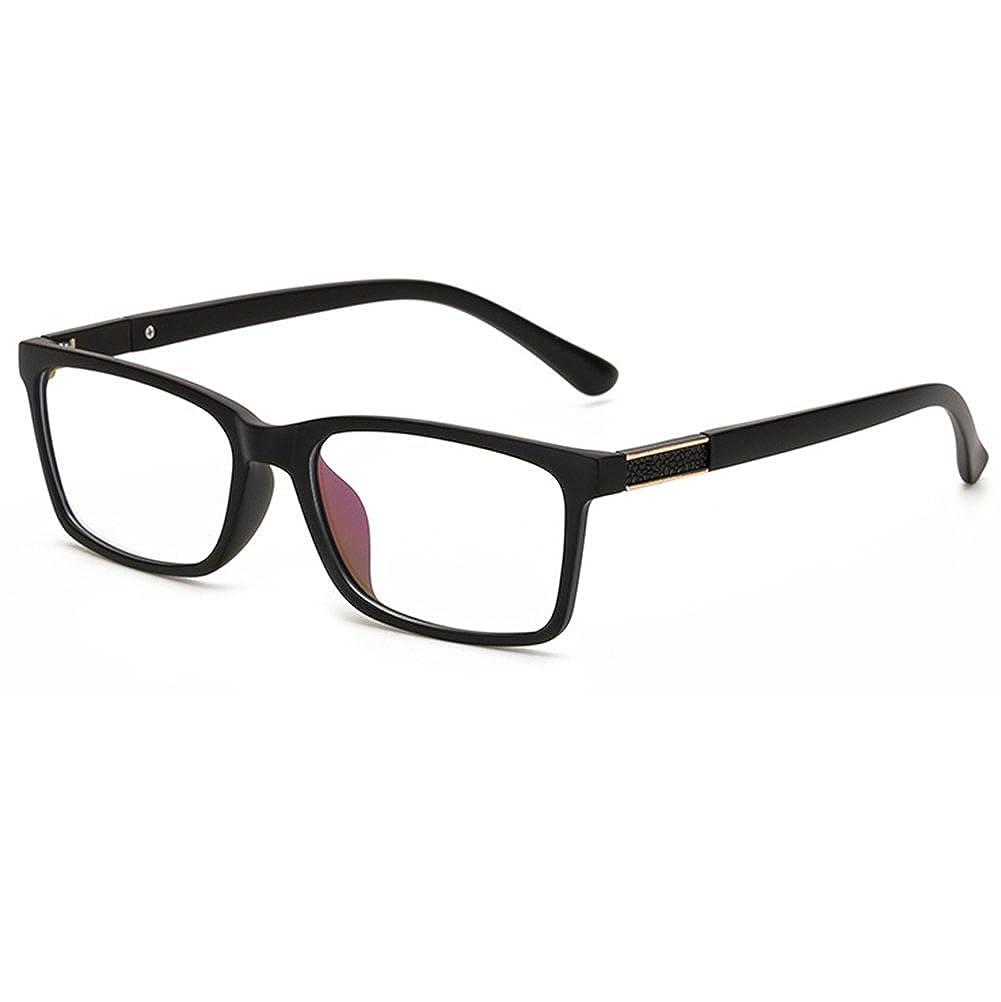 GRAFIT Unisex(Womens Mens) Optical Frame Classic Fashion Eyewear Clear Lens Glasses TR90 Material