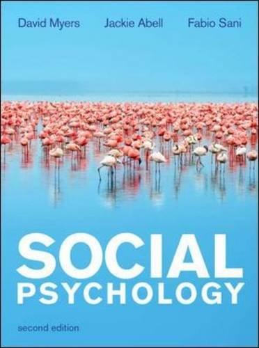 Social Psychology (UK Higher Education Psychology) pdf epub