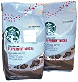 Naturally flavored ground coffee Peppermint Mocha with other natural flavors. 2 Freshly roasted packs. Rich mocha flavor meets our lightest roast in this irresistible treat. Delicious dark chocolate works its magic, with a hint of peppermint ...