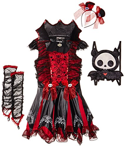 California Costumes Diego The Bat Deluxe Tween Costume, (Skelanimals Diego)