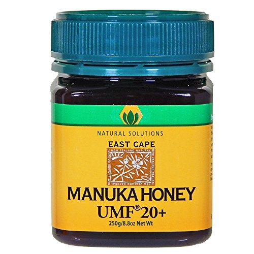 Manuka Honey Active UMF 20 MGO 888 Raw Unpasteurized Certified East Cape Te Araroa New Zealand (East Cape)