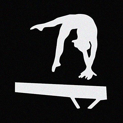 Gymnast Gymnastics Window Decal Sticker