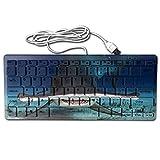 Mortal Dream Ultrathin Mini Keyboard Singular Hammerhead Shark Wired Gaming Keyboard Computer Accessories Keyboards For Laptop