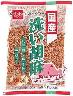 健康フーズの国産いり胡麻 金 (60g×30個入)×1ケース          JAN: 4973044039649