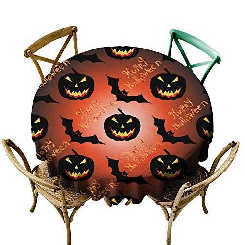 SKDSArts tablecloths Halloween Seamless Vector Pattern Background Wallpaper D36,for Spring]()