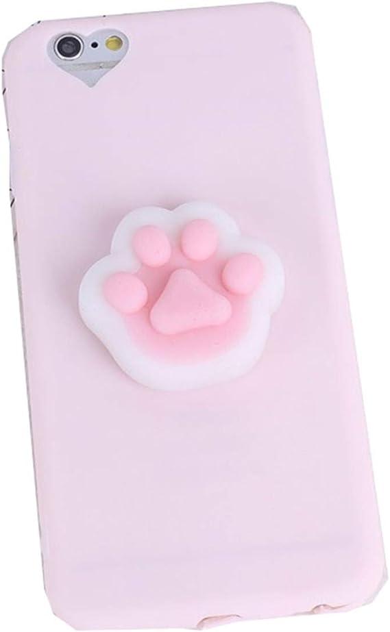 Amazon Com Panda Phone Cases For Iphone 6s 8 7plus 5 5s Se Case Silicone Soft Tpu Squishy Capinha Cover For Iphone 6 Coque Pink1 For Iphone 7 Plus