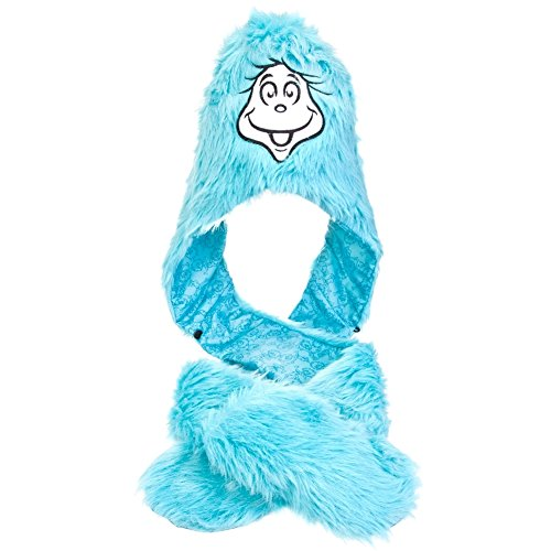 Dr. Seuss - Thing 1 Plush Hat With Attached Mittens