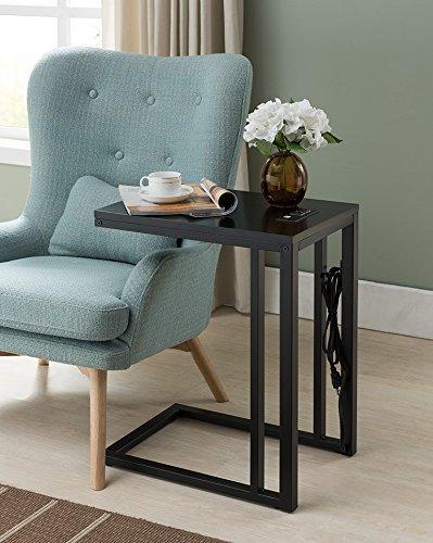 Soho C-Table in Black One Source Living RH-170213-BL
