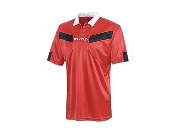 ATELIER DEL RICAMO Camiseta árbitro fútbol Manga Corta Macron Referee: Amazon.es: Deportes y aire libre