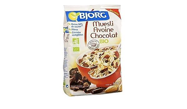 BJORG Mesli Avena Chocolat375G: Amazon.es: Alimentación y bebidas