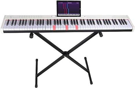 yankai 88 Teclado De Piano Digital, Banco Soporte De Teclado ...