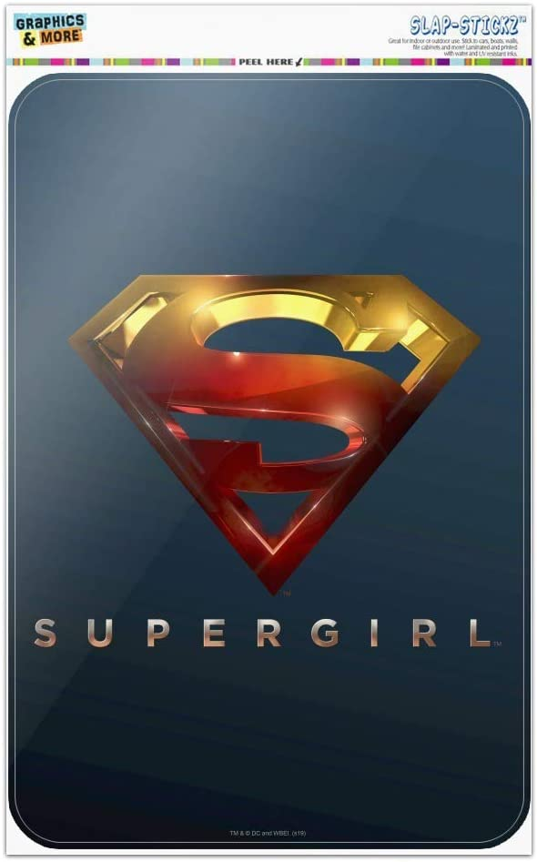 GRAPHICS /& MORE Supergirl TV-Serie Logo Home Business Office Schild 4 x 6 Multi