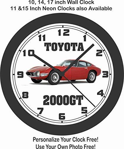 amazon jim s classic clocks 1968 toyota 2000gt big 10 inch wall 1970 Honda N600 jim s classic clocks 1968 toyota 2000gt big 10 inch wall clock free usa ship