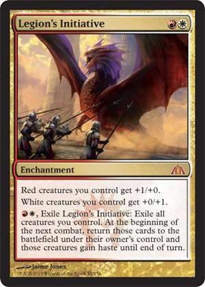 (Magic: the Gathering - Legion's Initiative - Dragon's Maze - Foil)