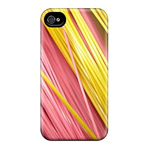 ReMllke Iphone 4/4s Hybrid Tpu Case Cover Silicon Bumper Colors Abstract 1080p