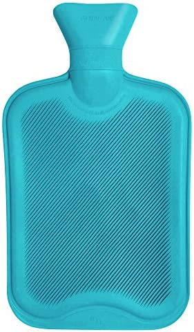 Premium Rubber Hot Water Bottle by WheatyBags available in different sizes (750ml [23cm x 15cm], d. Cream) by WheatyBags